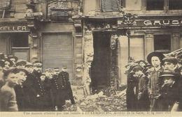 Une Maison Atteinte Par Une Bombe à Luxembourg,Avenue De La Gare ,le 24.3.1918  -  Edit. Théo Wirol,Luxembourg-Gare - 1914-18