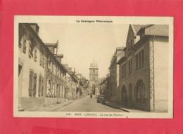 CPA -  La Bretagne Pittoresque - Loudéac - La Rue De Pontivy - Loudéac