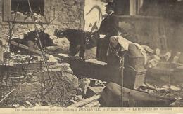 Des Maisons Détruites Par Des Bombes à Bonnevoie,le 25.3.1918 -  Edit. Théo Wirol,Luxembourg-Gare - 1914-18