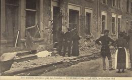 Des Maisons Détruites Par Des Bombes à Luxembourg-Clausen,le 8.7.1918 -  Edit. Théo Wirol,Luxembourg-Gare - 1914-18