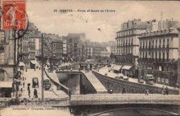 Dep 44 , Cpa NANTES  , 32 , Ponts Et Quais De L'Erdre (2643) - Nantes