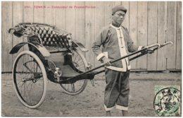 TONKIN - Conducteur De Pousse-pousse - Viêt-Nam