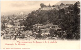 Souvenir De BROUSSE - Vue Panoramique De Brousse Et De La Citadelle - Turkey