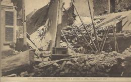 Des Maisons Détruites Par Des Bombes à Esch S.Alzette,le 24.3.1918  -  Edit. Théo Wirol,Luxembourg-Gare - 1914-18