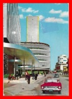 CPSM/gf BAGHDAD (Iraq)   La Banque Centrale D'Irak Et La Banque Rafidain, Rue Rasheed, Animé...J917 - Iran