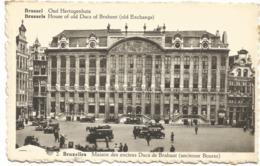 CPA BELGIQUE BRUXELLES  Maison Des Anciens Ducs De Brabant (ancienne Bourse) Animé - Monuments, édifices