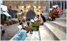 CONSTANTINOPLE - Pélerins Musulmans - Turquie