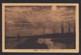 16997 Sciacca - Il Porto (notte) F - Agrigento