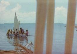 CPSM Publicité UTA - Ailes Françaises Sur 5 Continents - Tahiti (avec Jolie Animation) - Publicité