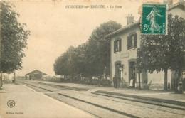 45 OUZOUER SUR TREZEE La Gare CPA Ed. Roullet - Andere Gemeenten