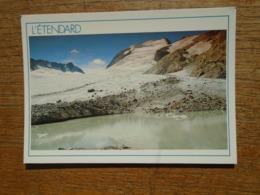 Le Pic De L'étendard , Le Lac Du Glacier De St Sorlin - France