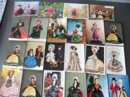 LOT  DE   42  CARTES  POSTALES   DE  POUPEES - Cartes Postales