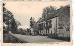 Vallée De La Wamme - Arrêt De L'autorail Marche-Bastogne à Grune - Ed. Roizeux Collard - Nassogne
