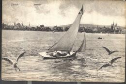 Zurich Seemotiv Boot 1912 - ZH Zurich