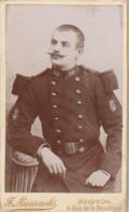 Format - C.D.V. : Soldat En Pose : 58é Régt. Musique - ( Photo. F. MIESIENSKI - Avignon - Vaucluse ) - War, Military