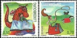 CEPT / Europa 2010 Luxembourg N° 1811 Et 1812 ** Les Livres Pour Enfants - 2010