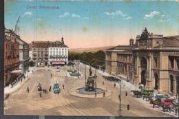 Zurich Bahnhofplatz 1924 - ZH Zurich