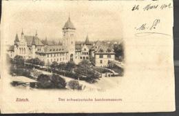 Zurich Das Schweizerische Landesmuseum 1902 - ZH Zurich