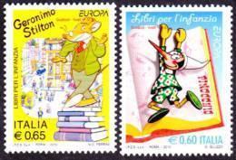 CEPT / Europa 2010 Italie N° 3137 Et 3138 ** Les Livres Pour Enfants - Europa-CEPT