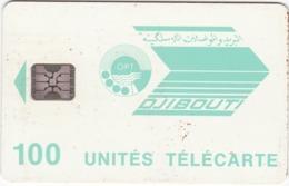 TC082 TÉLÉCARTE A PUCE - DJIBOUTI 100 UNITÉS - OPT DJIBOUTI - Djibouti