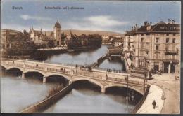 Zurich Bahnhofsbrücke Und Landesmuseum 1910 - ZH Zurich
