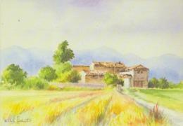 Michèle GONDINET: ## La Provence En Aquarelles ## - CPM Neuve (150 X105). - Schilderijen