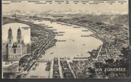 Zurich Zürichsee 1910 - ZH Zurich
