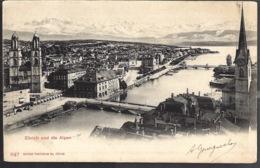 Zurich Und Die Alpen 1902 - ZH Zurich