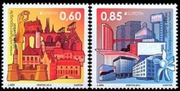 CEPT / Europa 2012 Luxembourg N° 1848 Et 1849 ** Tourisme - Europa-CEPT