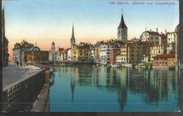 Zurich Altstadt Vom Limmatquai - ZH Zurich