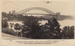 HARBOUR BRIDGE - SYDNEY - N.S.W. FROM BOTANICAL GARDENS - VIAGGIATA 1937 - Sydney