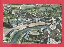 CPSM (abîmée ) Grand Format-  Plancoet   (C.-du-N.) -Vue  Générale Du Quartier De La Gare Et Les Hôtels - Plancoët