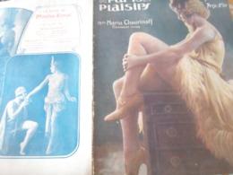 PARIS PLAISIRS 36 /CHOURINOFF /MOULIN ROUGE /PALACE/LOULOU HEGOBURU /MADELEINE BASTILLE SIMENON SIM - Libri, Riviste, Fumetti
