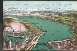 Zürich Der Zürichsee  Avec Prix Des Bateau Pour La Navigation Sur Le Lac - ZH Zurich