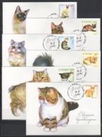 UKRAINE 2008 Mi 967MK-968MK Cats / Katzenrassen - Chats Domestiques