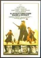 Carte Postale : Il était Une Fois Dans L'Ouest (Sergio Leone Cinema Affiche Film) Illustration Michel Landi - Manifesti Su Carta