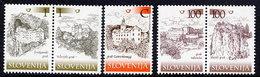 SLOVENIA 2005 Castles Definitive  MNH / **.  Michel 519-23 - Slovenia