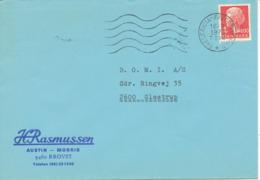 Denmark Cover Train Cancel Fredericia - Frederikshavn 16-9-1976 T594 - Briefe U. Dokumente
