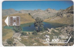 TC092 TÉLÉCARTE A PUCE - ANDORRE 100 UNITÉS - STA - NOUS SERVEIS TELEFONICS - Andorra