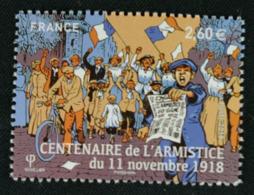 5284 Soldats Francais Et Allemands Fêtant La Fin De La Guerre - Frankreich