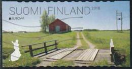 Finlande 2018 Yv. N°2530 - Europa - Pont En Bois De Humppila - Oblitéré - Finlande