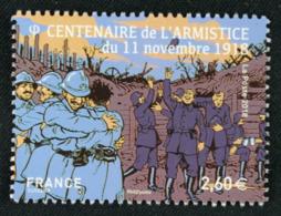 5285  Liesse Populaire  Lors De L'annonce De L'armististe - France