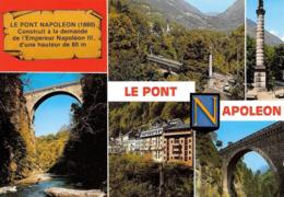 65 Luz Saint Sauveur Le Pont Napoléon (2 Scans) - Luz Saint Sauveur
