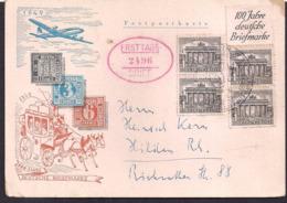Deustche Bundespost - 1949 - Brief - 100 Jahre Deustche Briefmarke - Lettres & Documents