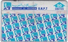 TC104 TÉLÉCARTE SANS PUCE / DOS NOIR - ITISSALAT AL - MAGHRIB - ONPT - 50 UNITES - Maroc