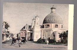 Netherlands Indies ± 1910 Protestantse Kerk Semarang (20-13) - Indonesia