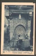 CPSM. Maroc. Fès. Fontaine Nedjarine. Photo Véritable De Flandrin. - Monuments