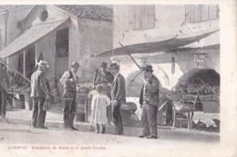 Carte Postale :Corfou Corfu (Grèce ) Vendeurs De Fruits à La Porte Royale   Rare   Ed  Borri Et Fils Dos Précurseur 1904 - Grèce