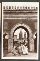 CPSM. Maroc. Fès. La Porte De Bou Jeloud. - Monuments