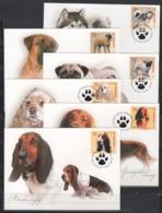 UKRAINE 2007 Mi 865-870MK Dogs / Hunderassen - Honden